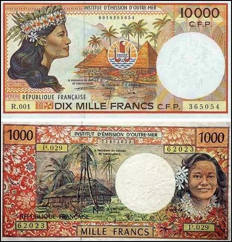 Деньги Французской Полинезии