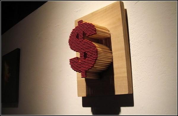 Искушение долларом: инсталляция от Пей-Сан Нг (Pei-San Ng)