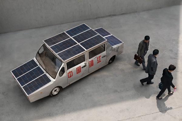 Автомобиль, работающий на солнечной энергии