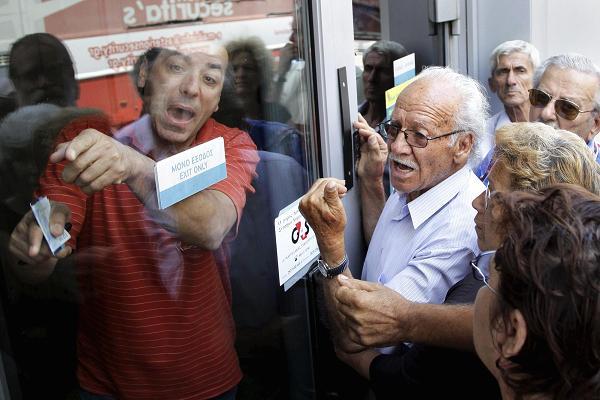 Как отражается кризис в Греции на ее гражданах