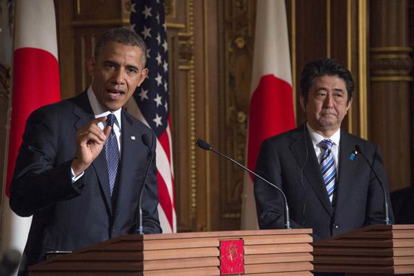 Развитие инфраструктуры Азии необходимо. Обама и Абэ с этим согласны