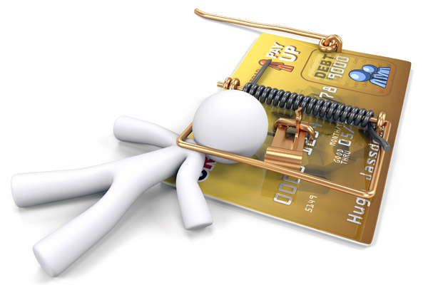 Что делать, если у вас большие долги по кредитным картам