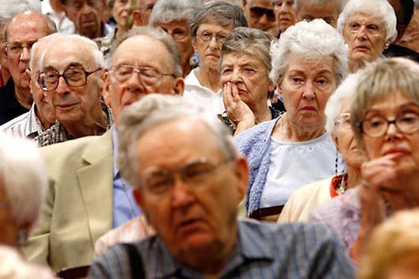 Кто будет гасить государственный долг стран, в которых большинство – старики?