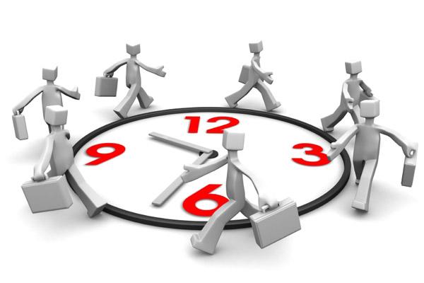 35 рабочих часов в неделю