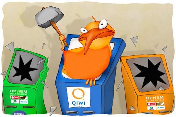 Кредитование через систему Qiwi.
