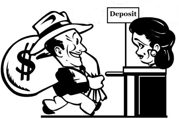 при подписании договора вклада, цель вклада, персональные данные, начисление процентов по вкладу, возможность пополнения