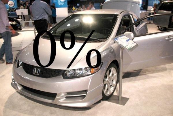 Возможен ли беспроцентный кредит на автомобиль?