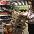 Россияне вновь начали закупаться впрок и вспомнили о продуктовых карточках