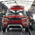 Производство автомобилей в Великобритании сокращается